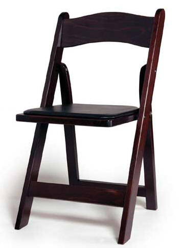 Mahogany Wood Folding Chair- QUANTITY/ 100