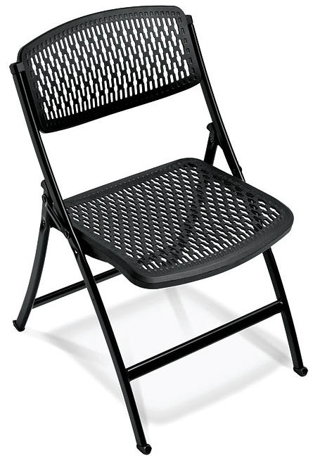 MESH FOLDING CHAIRS Stacking MITI LITE MESH Folding Chairs