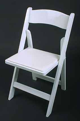 "alt=""image: Wood Folding Chairs for Weddings"
