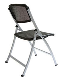 Superieur Weighing 20% Less Than Upholstered Folding Chairs From Leading Competitors,  The Meshu2022One™ Folding Chair Is Easy ...
