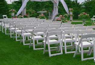 Miami Wedding Wood Folding Chairs White Wedding Wood