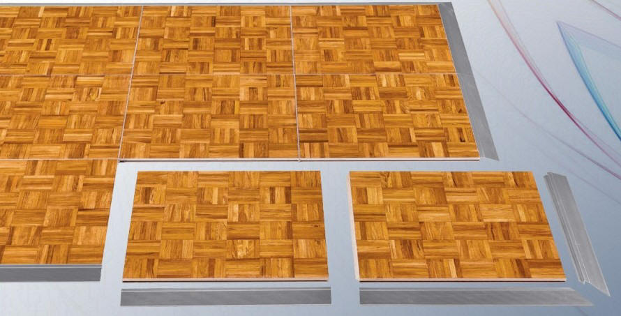 Portable Dance Floors - Discount dance flooring